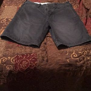 Abercrombie&fitch men's shorts faded look!